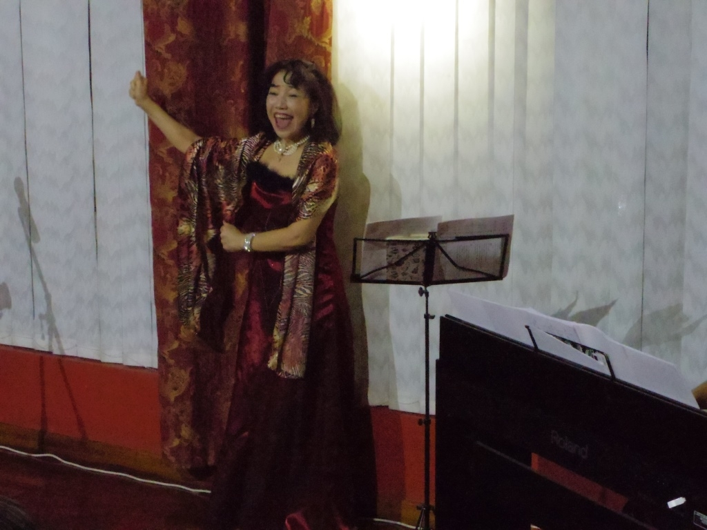 Concert by Japanese musicians (Soprano singer and pianist) : Embassy